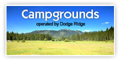 Campgrounds at Dodge Ridge
