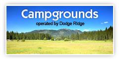 Campgrounds at Dodge Ridge