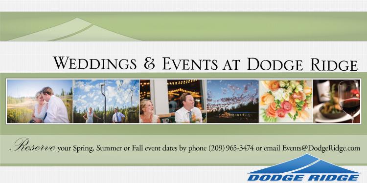 Dodge Ridge Weddings