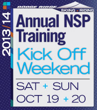 NSP Kick Off Weekend, Saturday & Sunday, October 19 & 20
