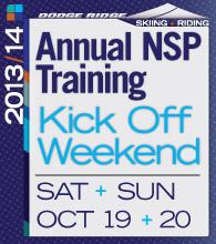 NSP Kick Off Weekend, Saturday & Sunday, October 19 & 20
