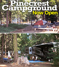 Dodge Ridge Campgrounds Now Open for Summer 2016