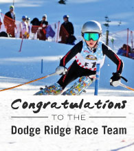 Dodge Ridge Race Team Wins the Rassmusen Classic at Bear Valley