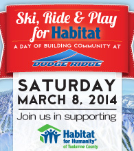 Ski, Ride & Play for Habitat