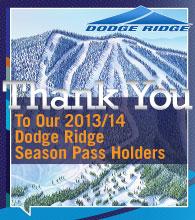 Thank You Season Pass Holders