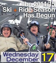 Dodge Ridge is Now Open for the 2014/15 Season