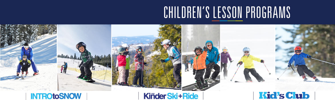 Dodge Ridge Children's Snowsports Lessons