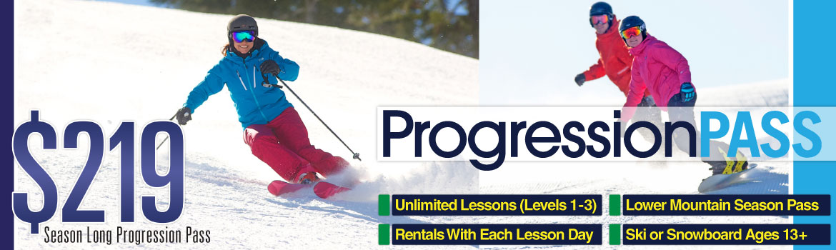 Dodge Ridge Progression Pass On Sale Now