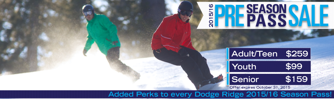 Dodge Ridge Ski Resort