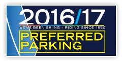 Dodge Ridge 2016/17 Preferred Parking Passes