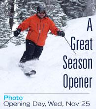 Dodge Ridge - A Great Season Opener