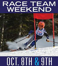 Race Team Weekend October 8th and 9th
