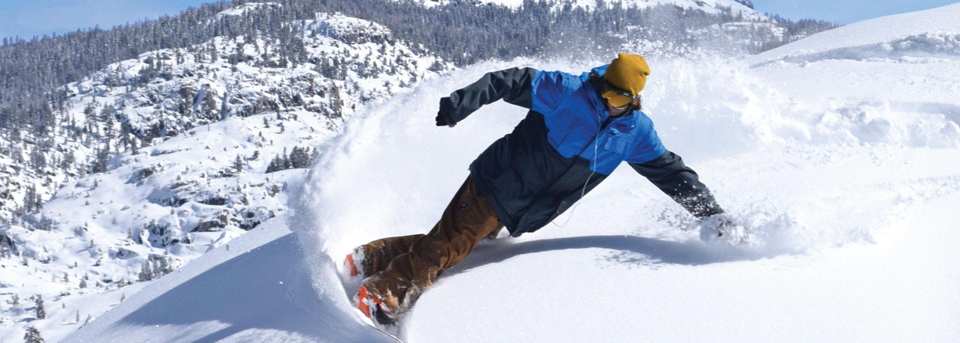 Dodge Ridge Ski Area closest California Snow to the Bay Area