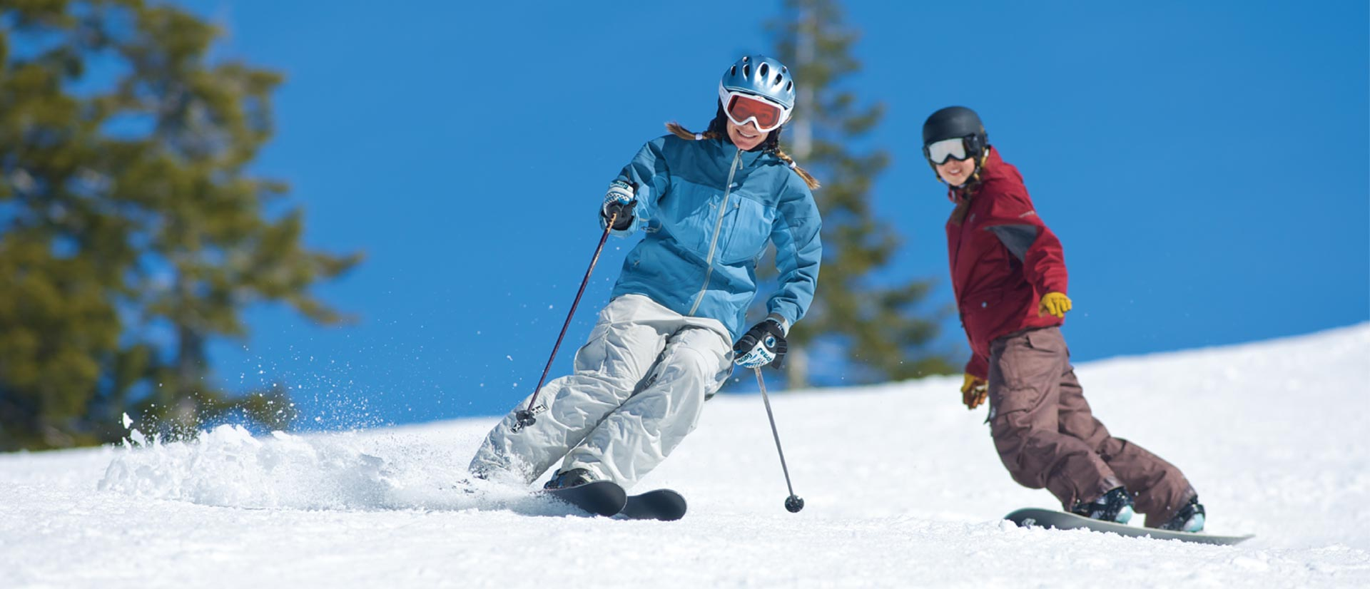 Dodge Ridge Adult and Teen Lesson Programs, Ski, Snowboard, Lessons