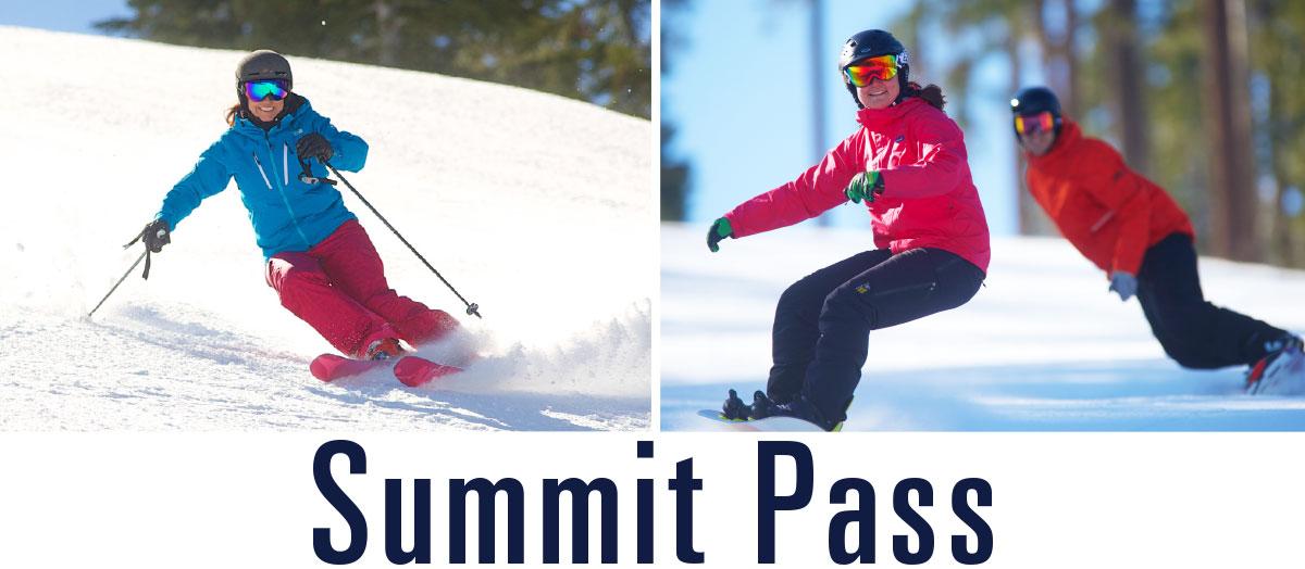The Dodge Ridge Summit Pass
