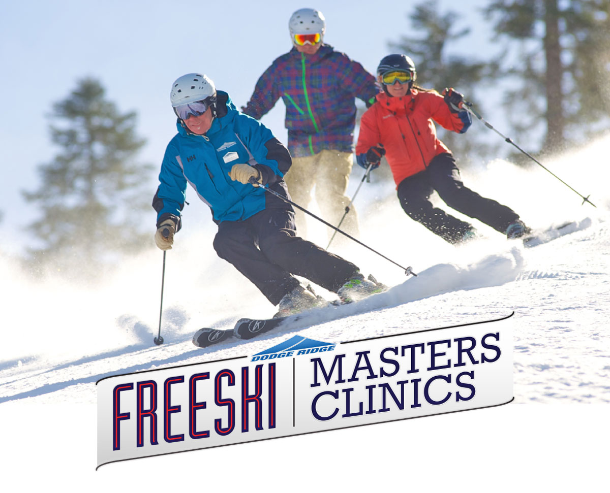 Dodge Ridge Master's Clinics - Technique progressions for skiers ages 50 and up