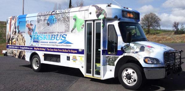 Tuolumne County Transit Pinecrest Summer Bus Service