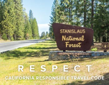 R.E.S.P.E.C.T. -  California Responsible Travel Code - How To Travel Responsibly In California