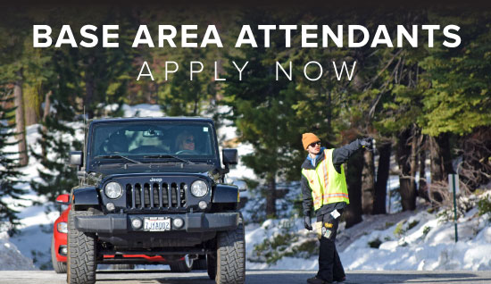 Dodge Ridge Base Area Attendant Team - Apply Online Now