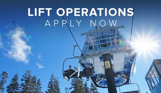 Dodge Ridge Lift Operations Team - Apply Online Now
