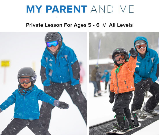 Dodge Ridge - My Parent and Me - Customized Child Private Lesson For Ages 5 - 6  //  All Levels