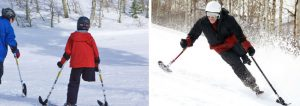Dodge Ridge Adaptive-Three-Track-Skis - Approved On-Mountain Device