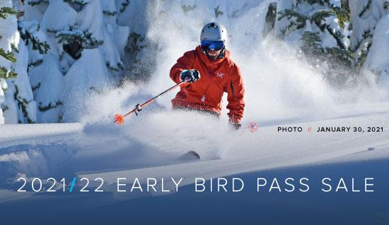 2020/21 Dodge Ridge Early Bird Season Pass Sale. The lowest season pass price possible for next season ends April 30, 2021