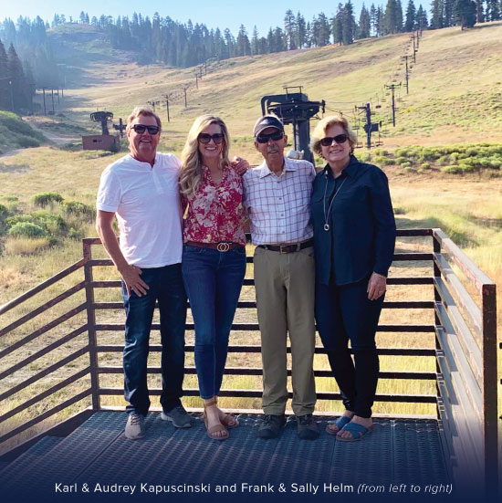 Photo of Karl & Audrey Kapuscinski and Frank & Sally Helm