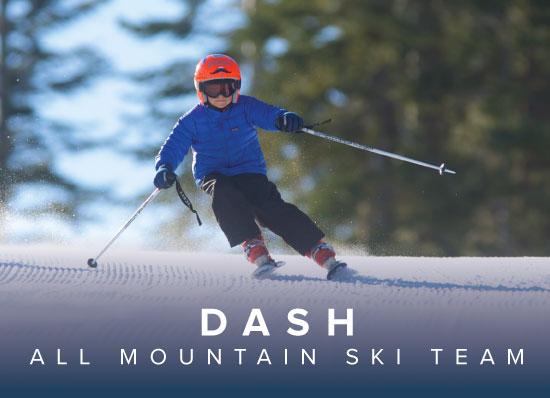Dodge Ridge DASH Ski Team - Dodge Ridge All Mountain Ski + Ride Team
